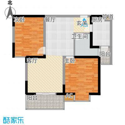 天香心苑85.00㎡C户型