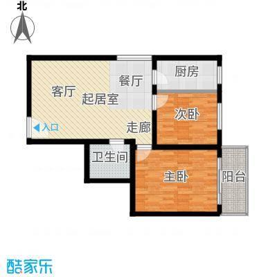 安诚御花苑93.94㎡K已售完户型