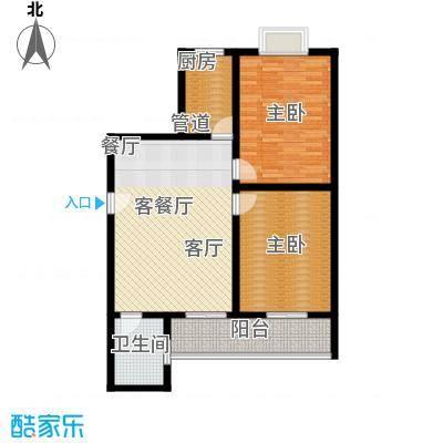 韶雨地铁城99.64㎡韶雨・地铁城3#/4#D户型