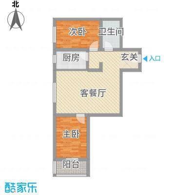香米苑88.34㎡Z户型