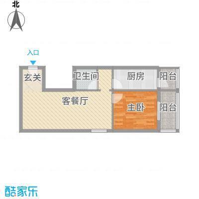 香米苑70.86㎡S户型