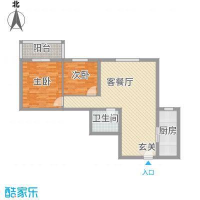 香米苑98.14㎡B户型