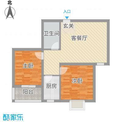 香米苑84.10㎡C户型