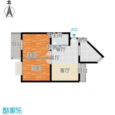 泉顺北岸生活86.09㎡B3户型