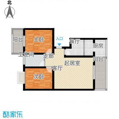泉顺北岸生活96.64㎡C2户型