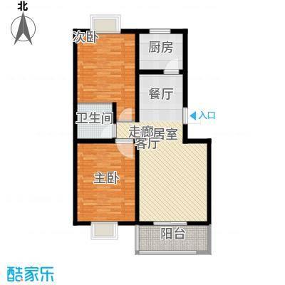 泉顺北岸生活87.87㎡A3户型