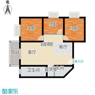 泉顺北岸生活102.88㎡B2户型