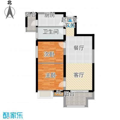 龙湖香醍国际社区90.00㎡B户型