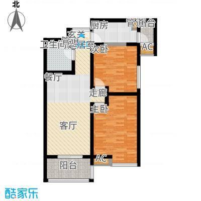 龙湖香醍国际社区85.00㎡C1户型