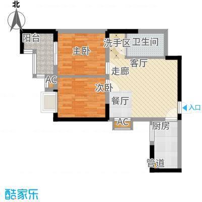 大唐新干线65.37㎡G户型
