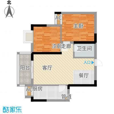 大唐新干线74.82㎡B户型
