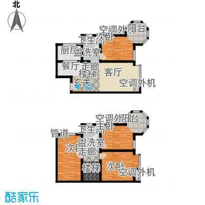 维也纳森林157.39㎡6#12#楼A7户型