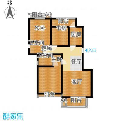 天下荣郡108.20㎡D2户型