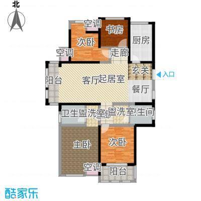 中天锦庭155.00㎡B4户型