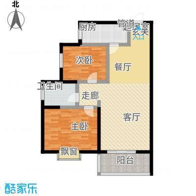 泾渭馨佳苑101.48㎡泾渭・馨佳苑E户型