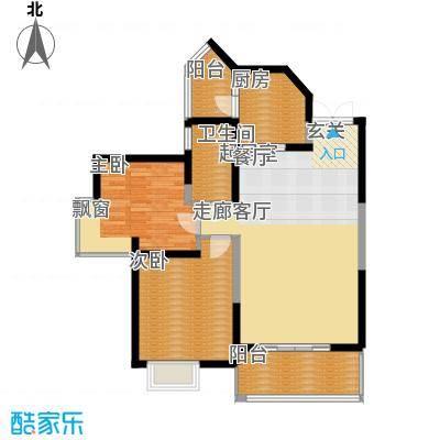 宇宏健康花城93.35㎡宇宏・健康花城16、19#楼C户型