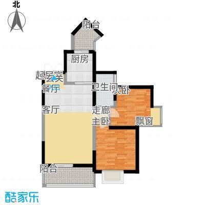 宇宏健康花城93.88㎡宇宏・健康花城16、19#楼C户型