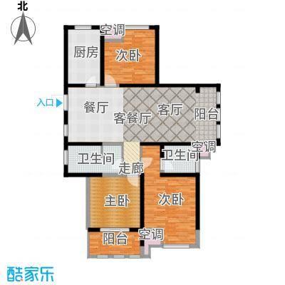中天锦庭137.00㎡B5户型