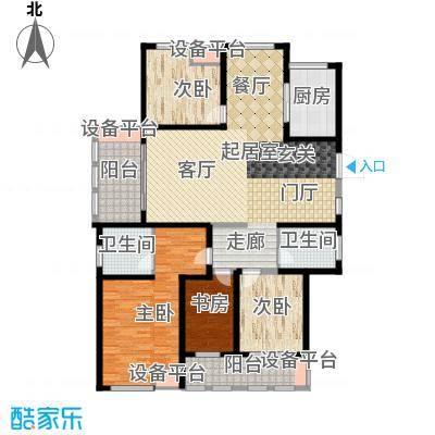 中天锦庭174.00㎡B3户型