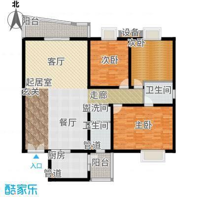 金裕青青家园165.95㎡B2面积16595m户型