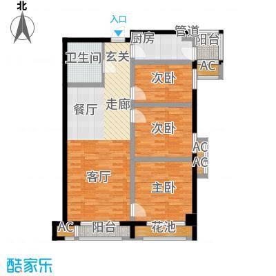 御溪望城111.50㎡C1户型