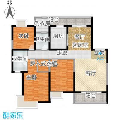 紫薇永和坊181.65㎡户型