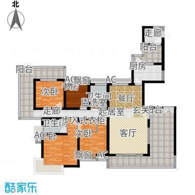 紫薇永和坊190.00㎡户型