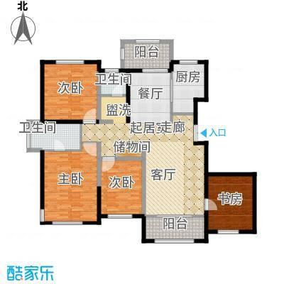 香江湾167.74㎡1号楼C1-2户型
