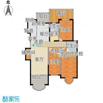 香江湾152.00㎡C2-4户型