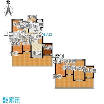 香江湾272.00㎡C1-1户型