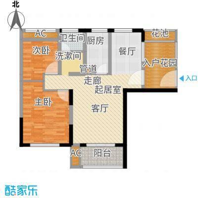 大华曲江公园世家89.95㎡C1819号楼户型