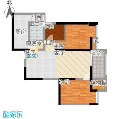 世融嘉轩92.00㎡4号楼C3户型