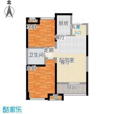 世融嘉轩97.00㎡E3户型