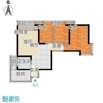 世融嘉轩117.00㎡4号楼C1户型