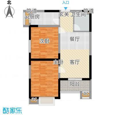 天坛佳苑(地块)88.23㎡天坛佳苑公寓1#B1/02户型