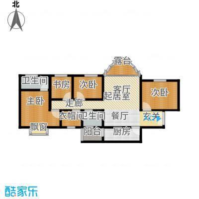 上林沣苑160.33㎡3#/14#/17#楼户型