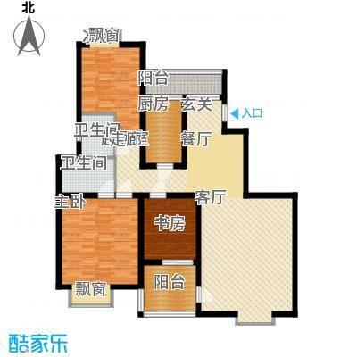 曲江风景线118.00㎡户型
