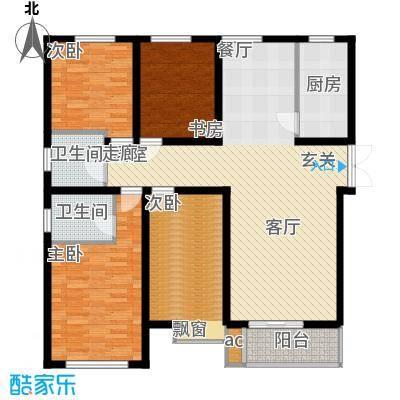 曲江风景线151.48㎡G1户型