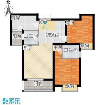 曲江风景线103.88㎡E2户型