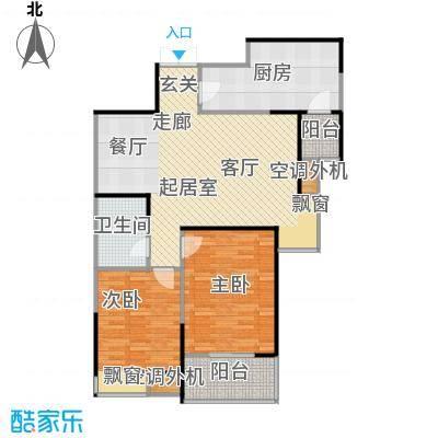 广厦水岸东方92.00㎡四期翠堤1、2号楼A户型