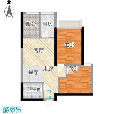 长安大街三号71.73㎡G-01/12户型