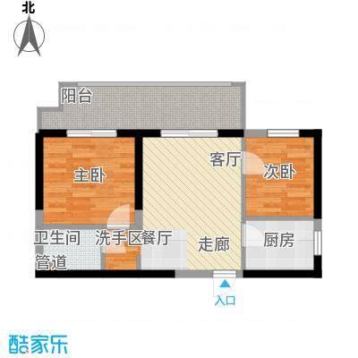 长安大街三号62.93㎡7号楼-q1户型