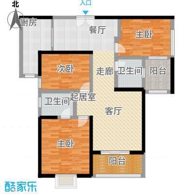 曲江观山悦140.44㎡户型