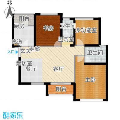 湾流天悦112.00㎡湾流・天悦13#楼B1/B3户型