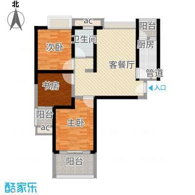 浩华香颂国际城104.41㎡C1户型
