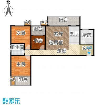 融尚中央住区101.00㎡融尚・中央住区6/7#楼A户型