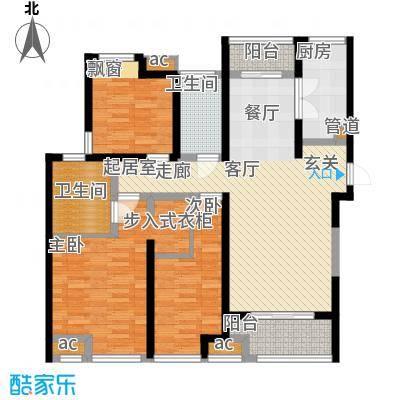 中海城112.00㎡f户型