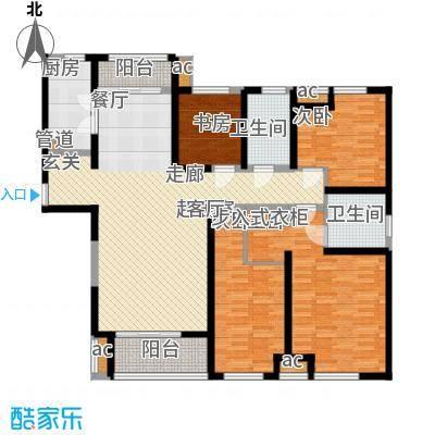 中海城139.00㎡g户型