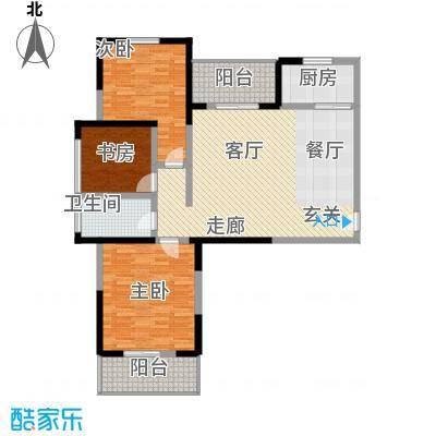 天香心苑113.00㎡A户型