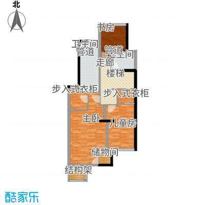 晶城秀府95.00㎡F二层户型